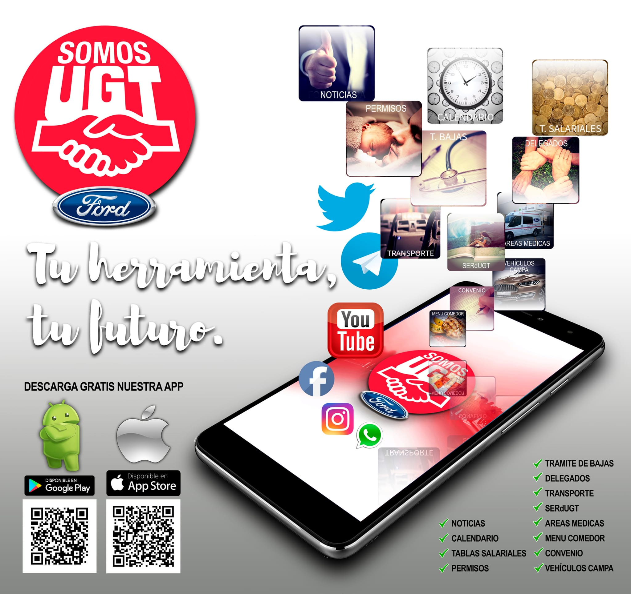 Descarga tu App UGT Ford